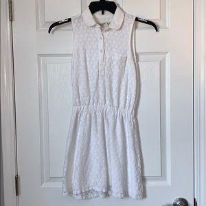 White Abercrombie Kids Dress
